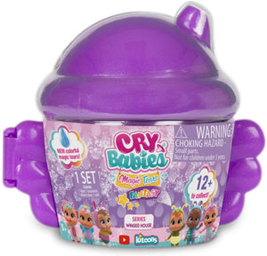 Cry Babies Magic Tears Winged House, 2 Pack, Multi (80577)