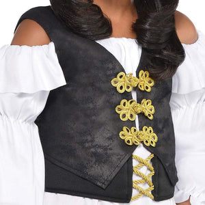 Amscan Pirate Costume | Pretty Scoundrel | Large (12-14)