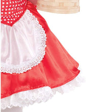Load image into Gallery viewer, Suit Yourself Classic Red Riding Hood Halloween Costume for Girl, with Accessories