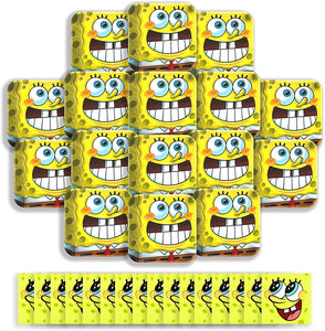 B-THERE Spongebob Squarepants Party Pack Bundle - Birthday Set, Seats 16: Plates and Napkins. Childrens Party Supplies