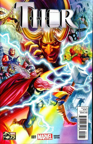 Thor #1 Alex Ross 1:75 Variant