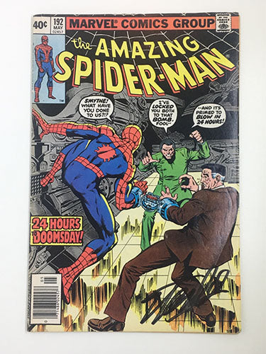 Amazing Spider-Man #192 Signed by Stan Lee