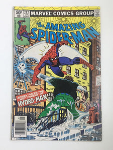 Amazing Spider-Man #212 Signed by Stan Lee