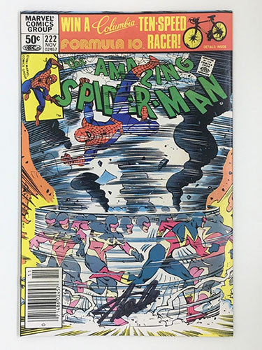 Amazing Spider-Man #222 Signed by Stan Lee