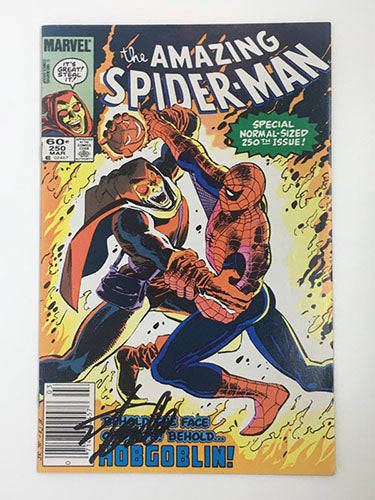 Amazing Spider-Man #250 Signed by Stan Lee