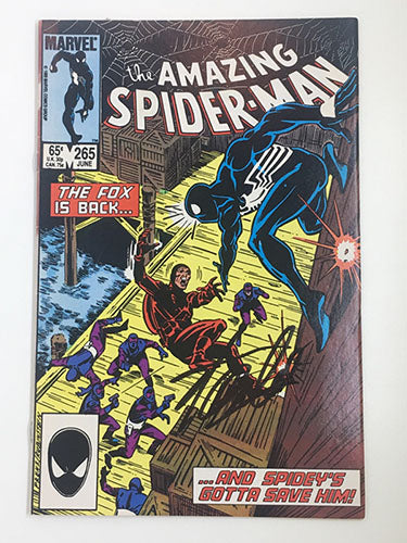 Amazing Spider-Man #265 Signed by Stan Lee