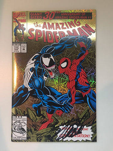 Amazing Spider-Man #375 Signed by Stan Lee