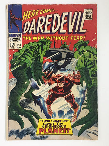 Daredevil #28 Signed by Stan Lee