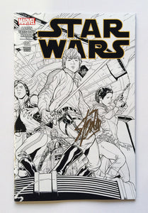 Star Wars #1 Quesada 1:500 Sketch variant Signed by Stan Lee