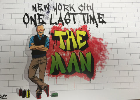 "NYCC ""One Last Time"" Limited Edition Lithograph Variant"
