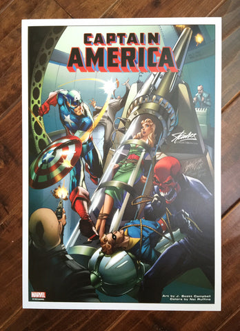 All New Captain America #1  J. Scott Campbell Print