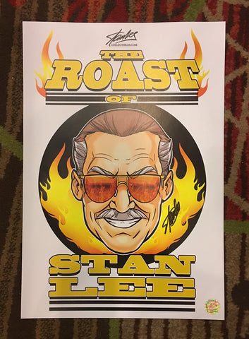Stan Lee Roast N Toast 2016 Print Lithograph