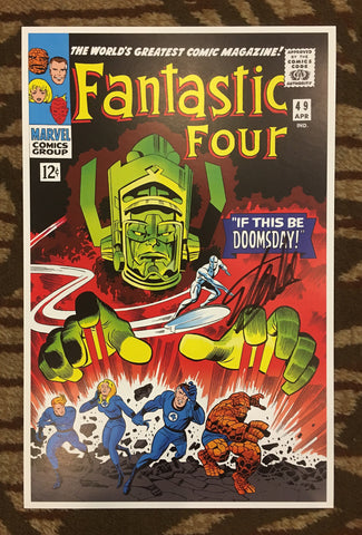 Fantastic Four #49 Cover Print Lithograph