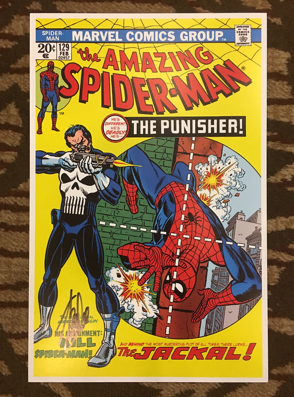 Amazing Spider-man #129 Cover Print Lithograph