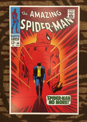 Amazing Spider-man #50 Cover Print Lithograph
