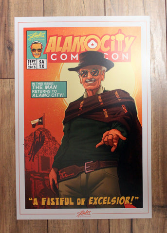 Alamo City Comic Con Print by NinjaInk