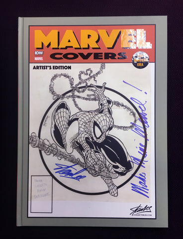 Marvel Covers: The Modern Era Mcfarlane Variant Signed by Stan Lee w/ Inscription
