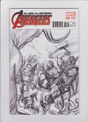 All New All Different Avengers #1 Variant 1:100 Alex Ross Classic Cover
