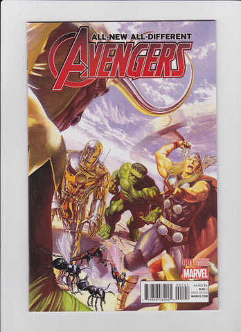 All New All Different Avengers #1 Variant 1:50 Alex Ross Classic Cover