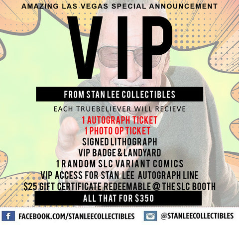 AMAZING LAS VEGAS Stan Lee Collectibles VIP Package