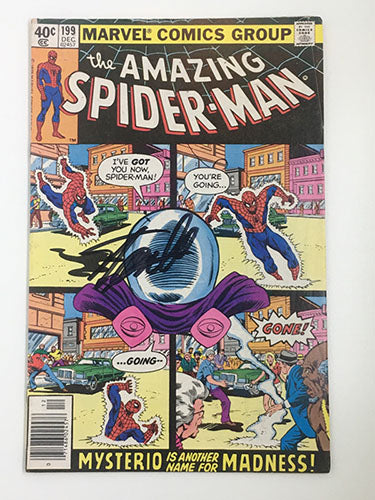 Amazing Spider-Man #199 Signed by Stan Lee