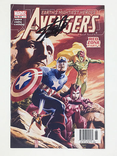 Avengers #65 Signed by Stan Lee