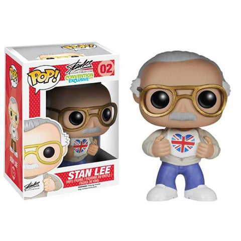 Stan Lee British POP figure