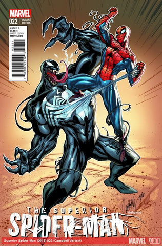 Superior Spider-man #22 Campbell Variant