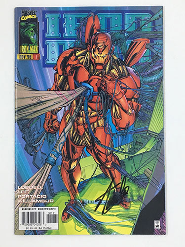 Iron Man #1 Signed by Stan Lee