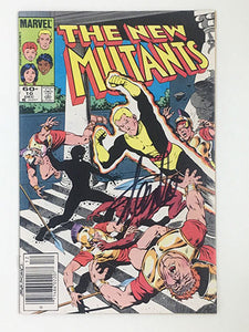 The New Mutants #10 Signed by Stan Lee
