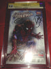 Amazing Spider-man 1 Gamestop Fade Variant CGC 9.8 Signed by Stan Lee, Dan Slott & Greg Horn