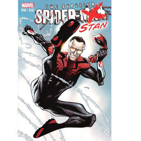 """Spider-Stan"" Superior Spider-Man #16 Exclusive Ramos Variant"