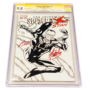 Superior Spider-man #16 Spider-stan Sketch Variant CGC 9.8 Signature Series
