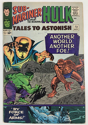 Tales To Astonish #73 Signed by Stan Lee