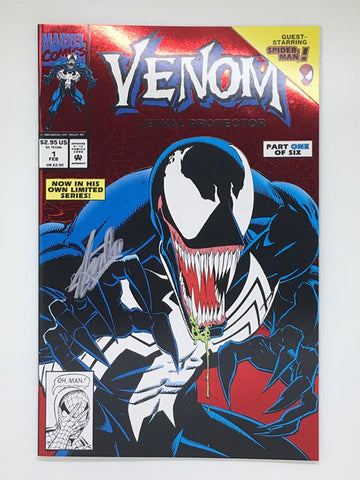 Venom Lethal Protector #1 Signed by Stan Lee