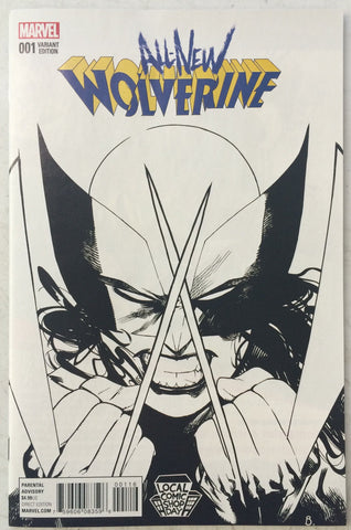 All New Wolverine #1 LCSD Variant Sketch