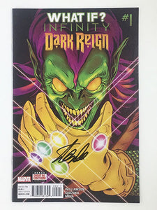 What If Infinity Dark Reign #1 Signed by Stan Lee