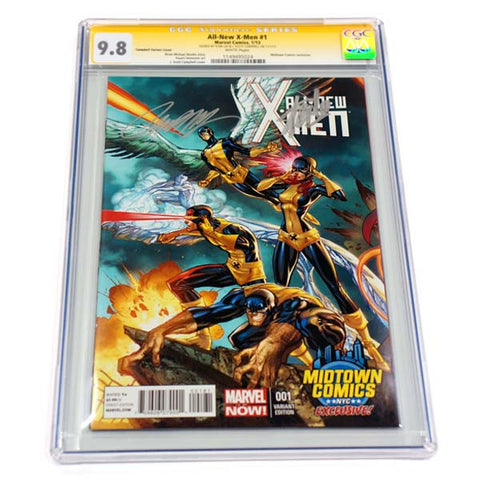 All New X-Men #1 Midtown Variant CGC 9.8 Signature Series
