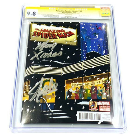 Amazing Spider-man #700 50th Anniversary Variant CGC 9.8 Signature Series