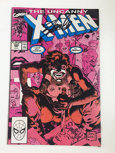 X-Men #260 Signed by Stan Lee