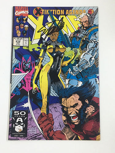 X-Men #272 Signed by Stan Lee