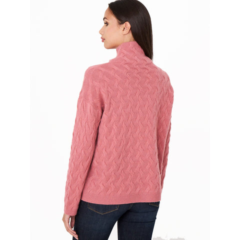 Repeat Luxe Textured Mockneck