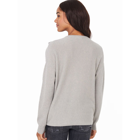 Repeat Side Button Pullover