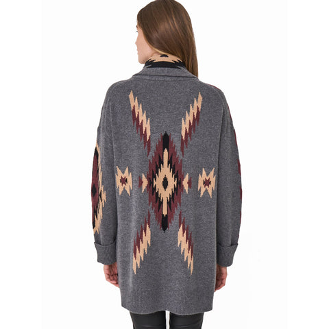 Repeat Aztec Sweatercoat