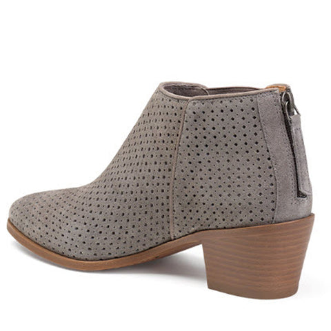 Trask Tisha Perf Grey Suede