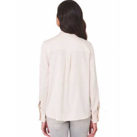 Repeat Silk Blouse