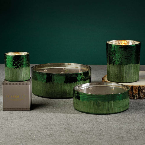 Siberian Fir Green 4 Wick Candle