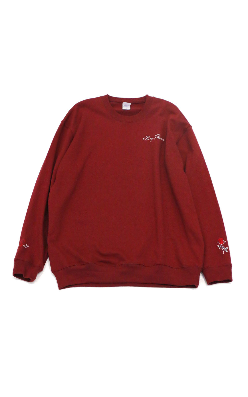 【My pace】スウェット(WINE RED)