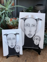 Load image into Gallery viewer, Twins - Fine Art Print - SharpBlunt.Art