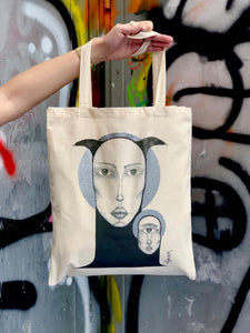 Twins - Tote Bag - SharpBlunt.Art